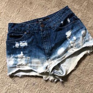 BDG Distressed Jean Shorts - Size 27